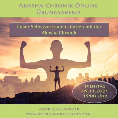 Unser Selbstvertrauen stärken mit der Akasha Chronik